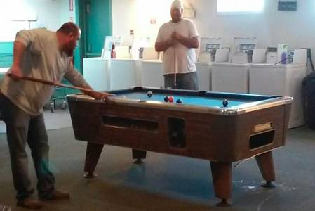 Pool Table & Washateria